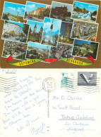 Beograd, Serbia Postcard Posted 1985 Stamp - Serbia