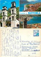 Kotor, Montenegro  Postcard Posted 1990 Stamp - Montenegro