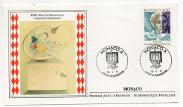MONACO--FDC--1991--XXVI° Prix International D'Art Contemporain--cachet MONACO . A - FDC