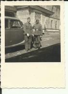 A204  --  DEUTSCHLAND  -  WW2  --  ORIGINAL PHOTO  -  RUSSIA,  42 ` --  SOLDATEN, ORDEN  -    7,8  Cm  X 6,7 Cm - 1939-45