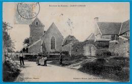 CPA 72 Environs De Mamers St SAINT-LONGIS Sarthe (Eglise) ° Edition J. Malicot - Trabot Libraire - France