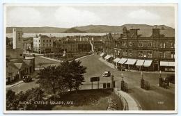 AYR : BURNS STATUE SQUARE - Ayrshire