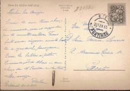 Portugal & Bilhete Postal, Praia Da Rocha , Portimão, Porto 1965 (330) - Lettere