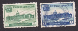 Dominican Republic, Scott #428-429, Used, Executive Palace, Issued 1948 - Dominican Republic
