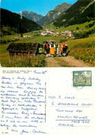 Family Costumes, Klosterle, Vorarlberg, Austria Postcard Posted 1993 Stamp - Klösterle