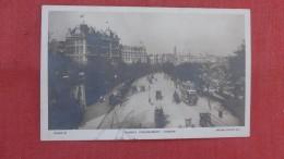 > England> London  RPPC Thames Embankment ========ref 2327 - London