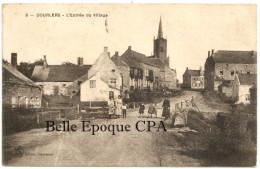 59 - DOURLERS - L´Entrée Du Village +++++ Laffineur-Samin, édit., Hautmont / LS, #5 ++++ Vers La Belgique ++++ RARE - France