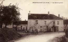 77  MONTOLIVET  Le Rond-Point Animée - France