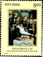 HEALTH-LUIS PASTEUR-INDIA-1995-MNH-A1-581 - Medizin