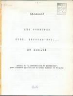 BELGIQUE- J. PIETTE, Les Communes D´hier, Aujourd´hui Et Demain Sd  - PDS14 - Philatelistische Wörterbücher