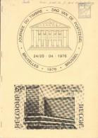 BELGIQUE- JOURNEE Du TIMBRE 4 Facicule 1976 à 1979, Bruxelles, Etudes Diverses Sur GD De Luxmbourg, Entier Postal De Bel - Briefmarkenaustellung