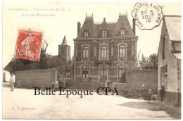 59 - VILLERS-POL - Château De M. C.-L. - Rue De Maresches ++++ Laffineur-Samin, édit., Hautmont / LS ++++ 1910 ++++ RARE - Autres Communes