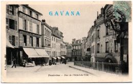 95 PONTOISE - Rue De L'hotel De Ville   -  (Reco/Verso) - Pontoise