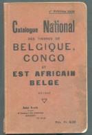 CONGO BELGE - J.ROELS, Catalogue National Des Timbres De BELGIQUE, CONGO Et Est Africain Allemand, Anvers, 7èed; 1939, 1 - Guides & Manuels