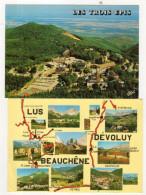 Lot De 100 Cpm De France,(Paysages,Ville,Montagne,etc....) - Cartes Postales