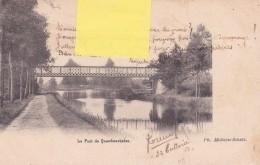KWAADMECHELEN - QUAEDMECHELEN /   Le PONT  - BRUG  - 1904 - Ham