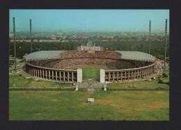Postcard 1960years BERLIN OLYMPIASTADION AERIAL VIEW SOCCER STADIUM FOOTBALL FUTEBOL CALCIO FUTBOL GERMANY DEUTSCHLAND - Allemagne