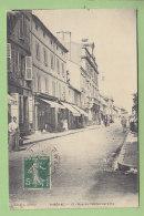 RIBERAC, 12 Rue De L'Hôtel De Ville. 2 Scans. Edition Ladoire (?) - Riberac