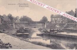 """Smeermaas - Lanaeken """" Pont Et Bassin / Brug  1922 Lanaken - Lanaken"""
