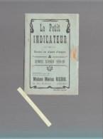 ANGERS - Le Petit Indicateur - Horaire Des Trains - Service D'hiver 1919-20 Nombreuses Publicités Magasins - Tourisme