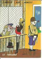 """Cartoncino Umoristico, L'amour Aux Armes, """"Le Taulard"""", Illustratore Lassalvy - Lassalvy"""