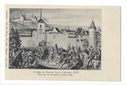 15279 - Entrée Du Comte Vert à Moudon Souvenir Du Centenaire Vaudois 1903 - VD Vaud