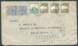 Airmail Cover To Vilvorde (BElgium) - 11384 - Palestine