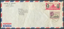 Airmail Cover From AMMAN 1965 To Vilvorde (BElgium) - 11386 - Jordanie