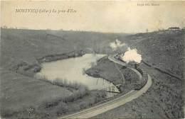 - Depts Div.-ref-JJ567- Allier - Montvicq - La Prise D Eau - Ligne De Chemin De Fer - Chemins De Fer - Train - Trains - - Frankrijk