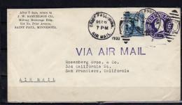 Samuelson Saint Paul 1933 > Rosenberg Brothers San Francisco (u118) - Interi Postali