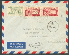 Airmail Cover From ALEP To Belgiun - 11390 - Syrie