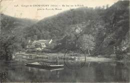 - Depts Div.-ref-JJ560- Allier -gorges De Chouvigny - Bac Sur La Sioule- Bacs -pres Pont De Menat - Puy De Dome - - Altri Comuni