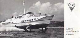 Hydrofoil Aliscafo Jadrolinija Yugoslavia 1963 - Barche