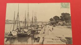 64 PYRENEES-ATLANTIQUES BAYONNE, Vue Sur Le Port, Animée, Bateaux, 1902,  (N. D. Phot) - Bayonne