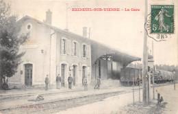 16-EXIDEUIL-SUR-VIENNE- LA GARE - Sonstige Gemeinden