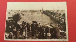 33 GIRONDE ANDERNOS, Bassin D'Arcachon, Le Bassin Et La Jetée Un Jour De Régates, Animée, (Bloc) - Andernos-les-Bains