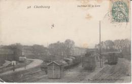 50 - CHERBOURG - Intérieur De La Gare - Cherbourg