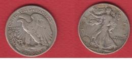 USA  --  1/2  Dollars 1943 D  ---  état  TB  --  KM # 142 - Federal Issues