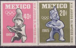 MESSICO OLIMPIC GAMES 1968 721/22 MNH - Zomer 1968: Mexico-City