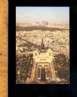PARIS 75016 : Vue Depuis Le Palais De Chaillot Jusqu'aux Tours De La Défense Par Albert Monier - Arrondissement: 16
