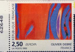 2797  EUROPA TABLEAU De O DEBRE NEUF** ANNEE 1993 Bord De Feuille Et Numeroté - Francia