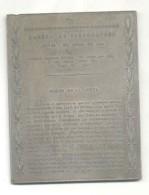 SESQUICENTENARIO DE LA REVOLUCION DE MAYO 1810-1960 COPIA DE LA HOJA 1 DE LA GAZETA DE BUENOS AIRES 7-6-1810 PLAQUETA RA - Professionals / Firms