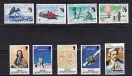 OZ Antarktika Britisches Antarktis Territorium Mi#20-23 ** 45 ** 132-135 ** - Territoire Antarctique Britannique  (BAT)