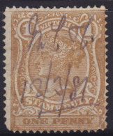 4538. Australia - Victoria, Old Revenue Stamp - Revenue Stamps