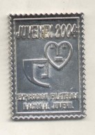 JUVENEX 2004 EXPOSICION FILATELICA NACIONAL JUVENIL ARGENTINA CLASE UN MARCO PLAQUETA TBE RARE - Professionnels / De Société