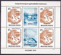 Hongrie 1973 N° Y&T :  Bl. 105 ** - Blocks & Kleinbögen