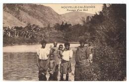 Nouvelle Calédonie    Passage D'un Gué  1938 - Océanie