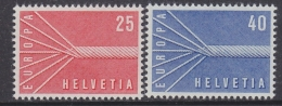Europa Cept 1957 Switzerland 2v ** Mnh (31999) - 1957