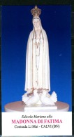 Santino - Madonna Di Fatima - Con Preghiera - Images Religieuses