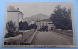 Saint Rémy De Chargnat-Entrée Sur Le Pont Et Vue D'Usson - Altri Comuni